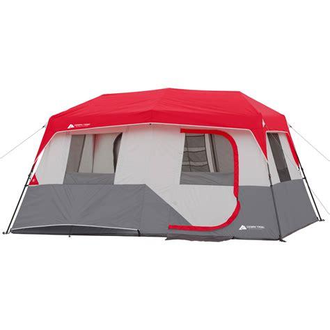 ozark trail 8 person instant cabin tent ozark trail 8 person instant cabin tent w rainfly