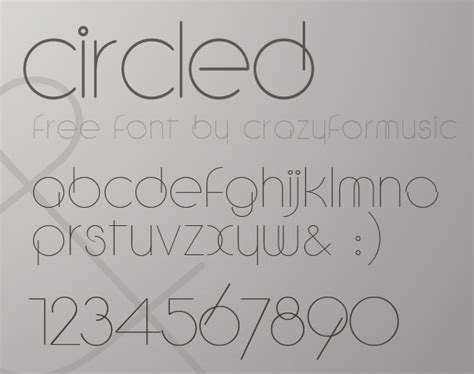 modern fonts collection