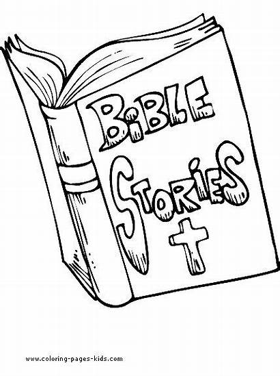 Coloring Pages Religious Bible Holy Items Printable