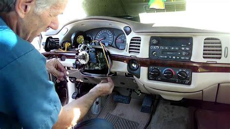 Impala Multifunction Switch Removal Youtube