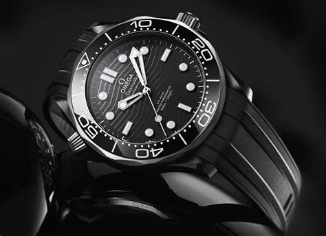 omega seamaster diver 300m in black ceramic and titanium ablogtowatch