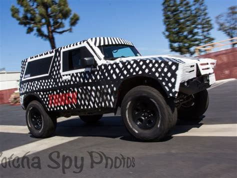 #spyshots 2020 #ford Bronco Recently Spied? The Ultimate