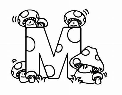 Coloring Pages Letter Names Bubble Letters Alphabets