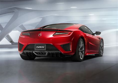 2016 acura nsx rear photo nsx red paint size 2048 x