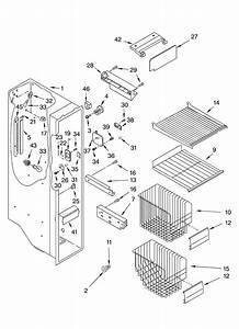 Kitchenaid Side By Refrigerator Parts Diagram
