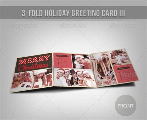 holiday card templates psd ai eps  premium
