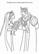 Coloring Pages Disney Rapunzel Princess Tangled Sheets Coloringdisney Notes sketch template