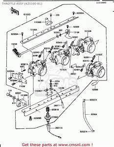 Kawasaki 1982 Kz1100