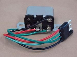 B 13482a Brake Light Relay Late For 1965