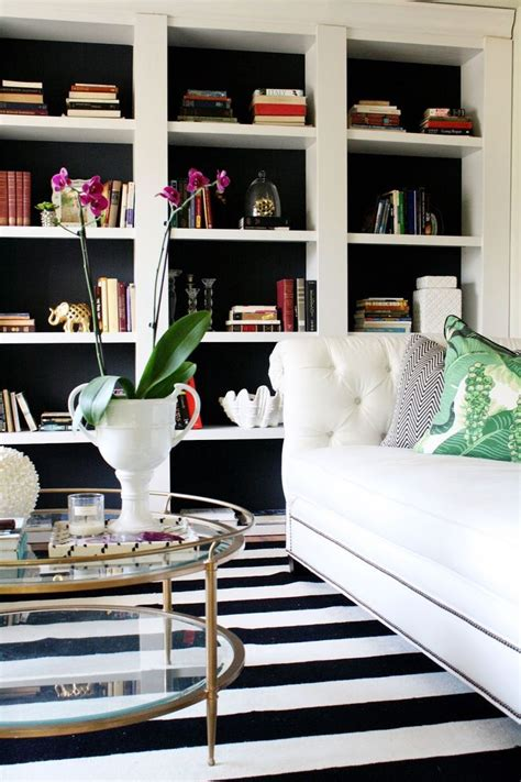 White And Black Bookcase by Take Inexpensive Bookcases From Target And Turn Them Into