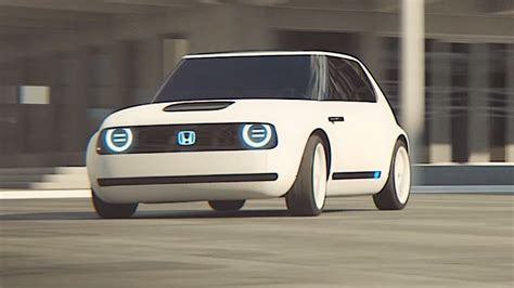 Honda Urban Ev Electric Driving Video World Premier New