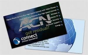 Project acn mlm business business card orlando fl for Mlm business cards