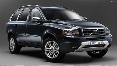 Volvo Xc90 Backgrounds by 2009 Volvo Xc90 In Black N Grey Background Hd Wallpaper