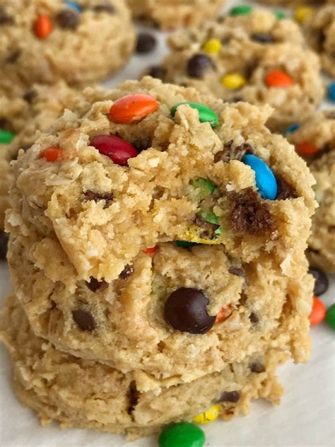cake mix monster cookies   family