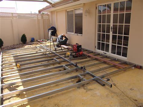 build  deck frame nexgen decking