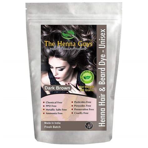 henna hair brown dye dark chemical guys natural grams beard maiden eyebrow delicious deep pack