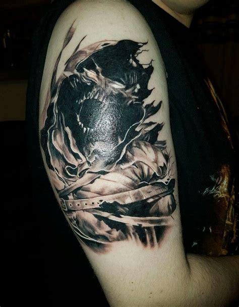 disturbed asylum tattoo matt drury black rabbit