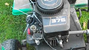 Lawn Mower Engine Blow