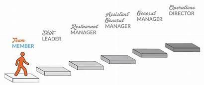 Career Progression Jobs Grow Path Steps Passion