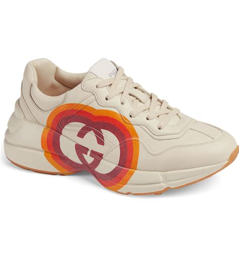 Buy, sell, empty your wardrobe on our website. Gucci Rhyton Double G Sneaker (Women)   Nordstrom in 2020 ...
