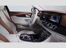 MercedesBenz España interior del nuevo Clase E Berlina