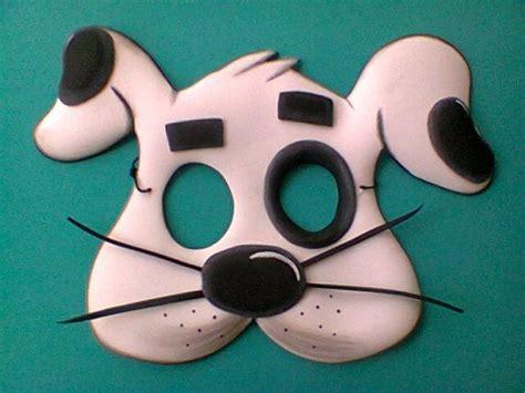 mascara perro trabajos en fomy pinterest mascaras