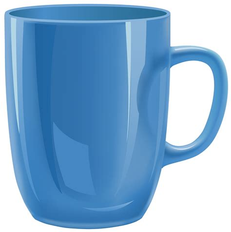 Cup Clip Mug Clipart Blue Pencil And In Color Mug Clipart Blue