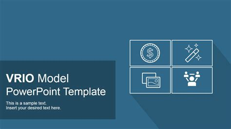 vrio model powerpoint template slidemodel