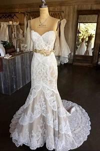 White Lace Mermaid Wedding Dress Strapless Long Bridal