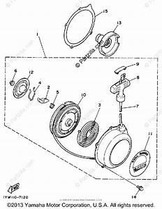 Yamaha Atv 1987 Oem Parts Diagram For Starter