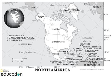 north america human geography national geographic society
