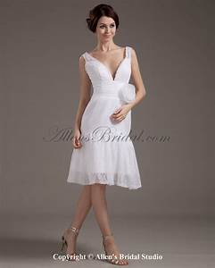 knee length lace wedding dress With knee length lace wedding dress