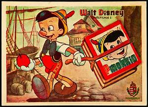 Vintage Disney movie posters: Pinocchio