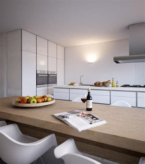 white gloss kitchen interior design ideas