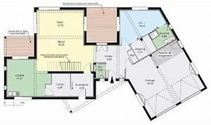 grande maison moderne hqe detail du plan de grande With porte de maison prix 5 construction ecologique maison container ses atouts