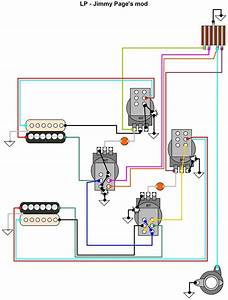 Hermetico Guitar  Wiring Diagram  Jimmy Page U0026 39 S Mod