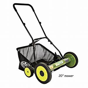 Mow Joe Manual Reel Lawn Mower