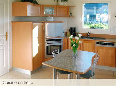 cuisine en hetre massif cuisines bois massif cuisine bois massif laque blanche
