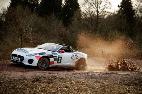 I Drove A Jaguar F-type Rally Car And It Was The Right