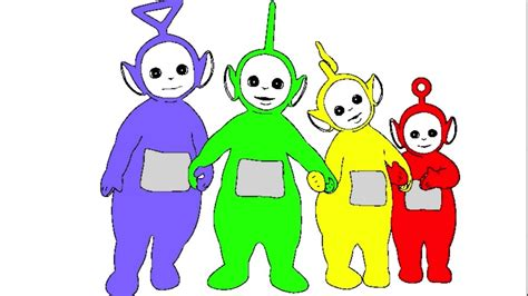 learn colours  children  teletubbies colouring