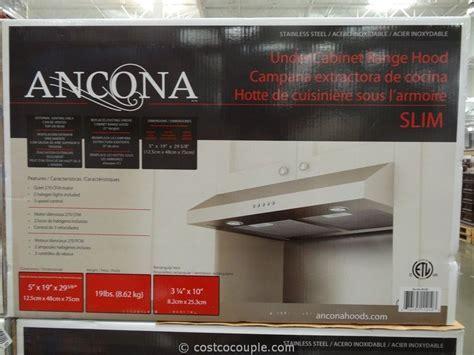 Ancona Slim Stainless Steel Hood