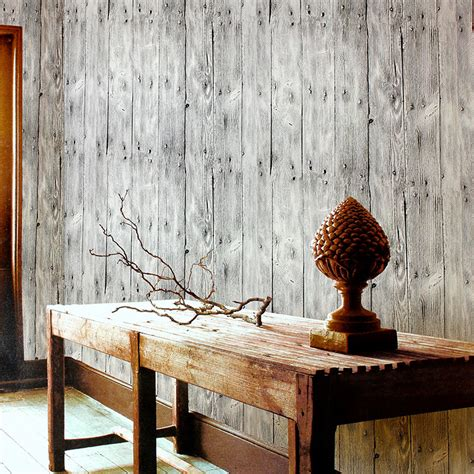 vinyl wood wall covering papel de parede wood wall paper vintage chinese style wallpapers wood planks wallpaper stripes