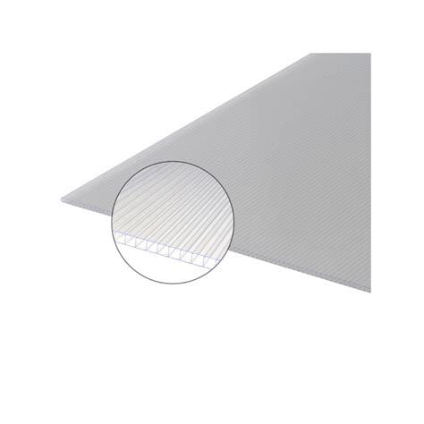 plaque polycarbonate alvéolaire plaque polycarbonate alv 233 olaire 6mm mccover