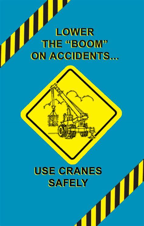 Crane Safety Poster | OSHA Safety Videos