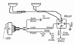 Driving Light Bar Wiring Diagram