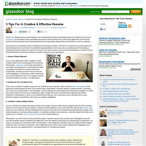 The Resume Glassdoor by Pin By Gonter On Productivity