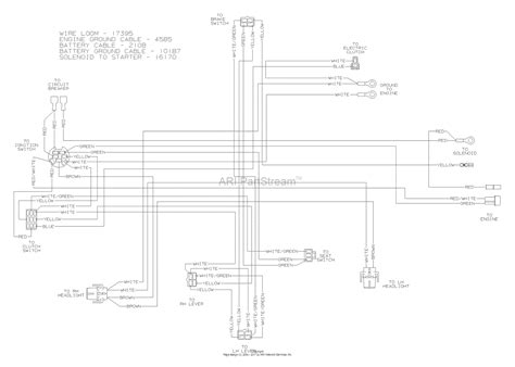 Wiring Diagram For A by Dixon Ram 50 2004 Parts Diagram For Wiring