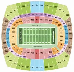 Kc Chiefs Stadium Seating Chart Concert Venues In Kansas City Mo Concertfix Com