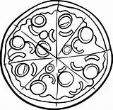Pizza Coloring Hut Pages Printable Drawing Clipart Sketch Clipartmag Getdrawings Neat Getcolorings sketch template