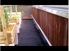 Aquaponic Greenhouse Cooling System YouTube